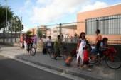 bicicleta, cami escolar, seguretat, pacificació del trànsit